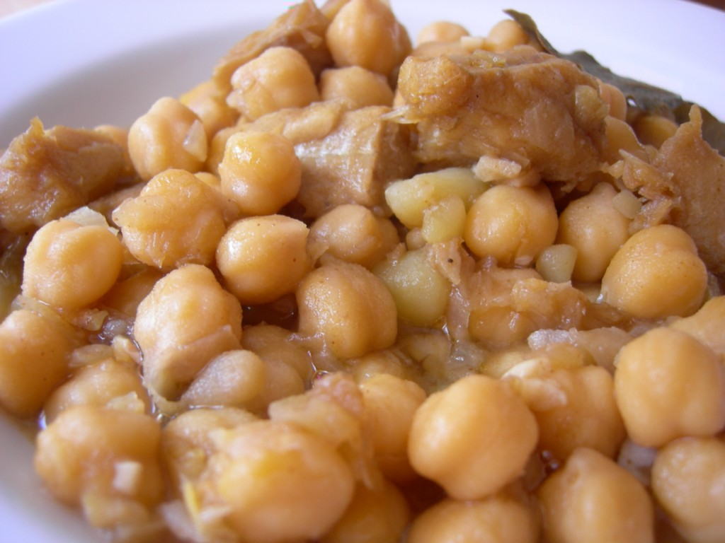 Potaje de garbanzos con bacalao as lo cocino - Potaje de garbanzos y bacalao ...
